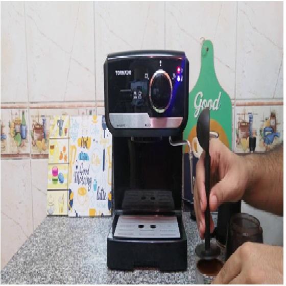 ماكينة قهوة اسبريسو تورنيدو