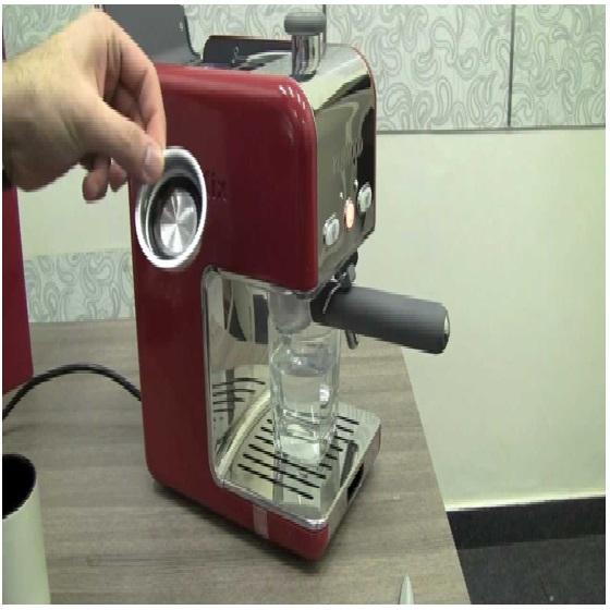 ماكينة قهوة اسبريسو كينوود